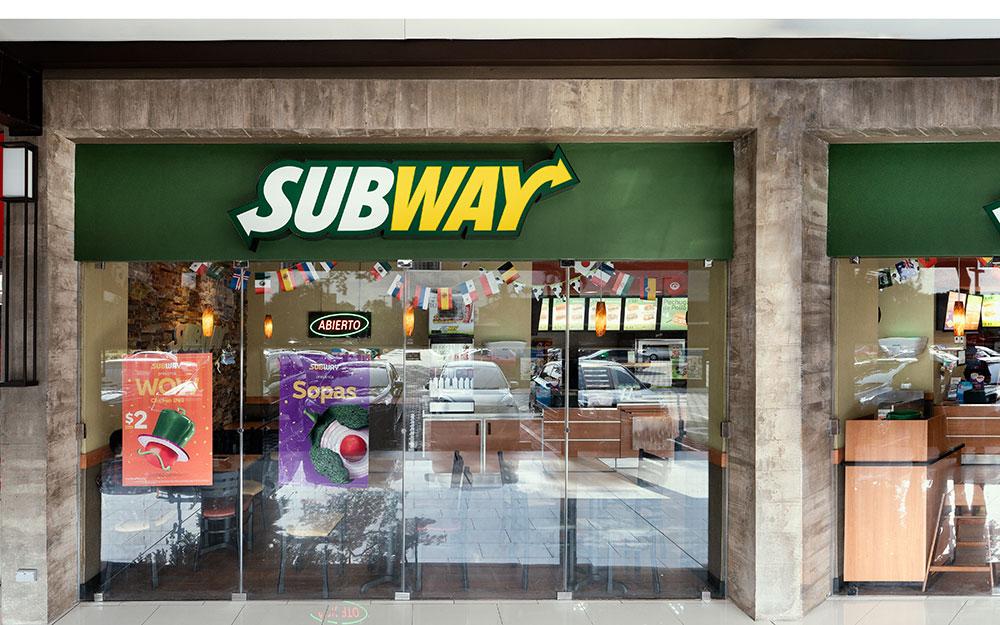 Subway   CC El Encuentro San Marcos