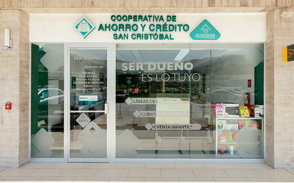Cooperativa de Ahorra y Credito San Cristobal | CC El Encuentro San Marcos