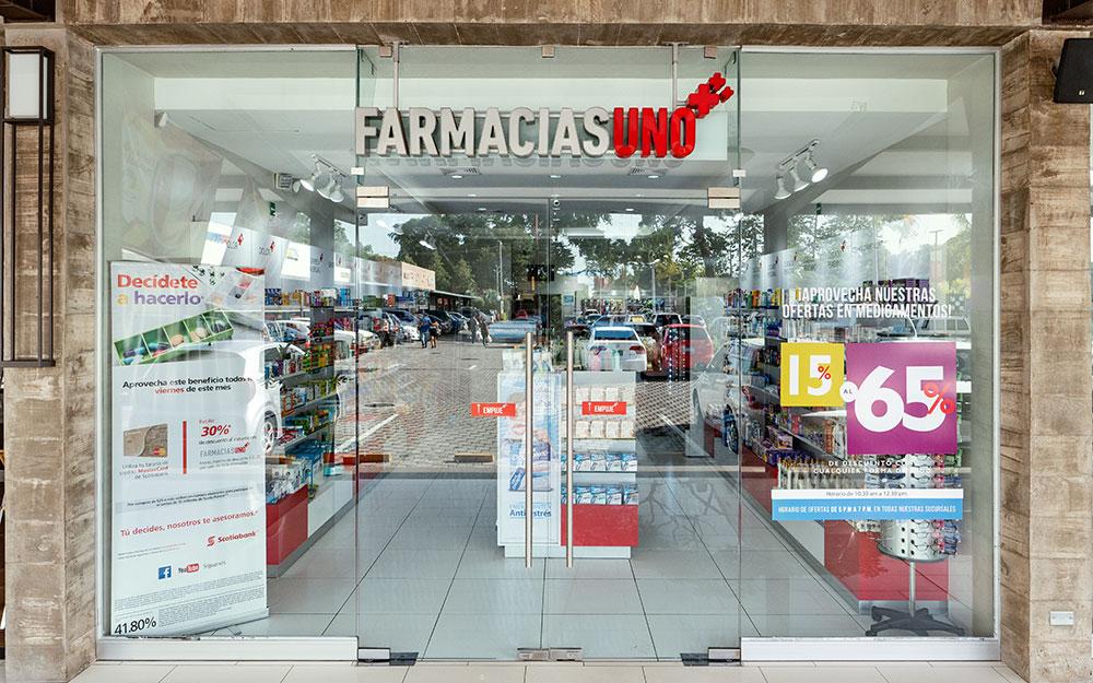 Farmacias Uno CC El Encuentro Lourdes